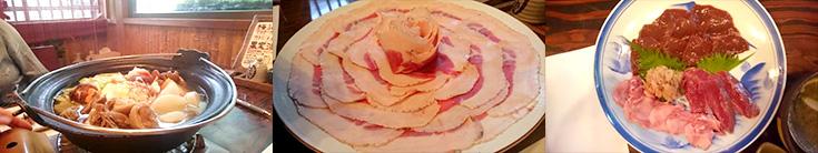 天然肉専門店 天龍で頂けるジビエ料理